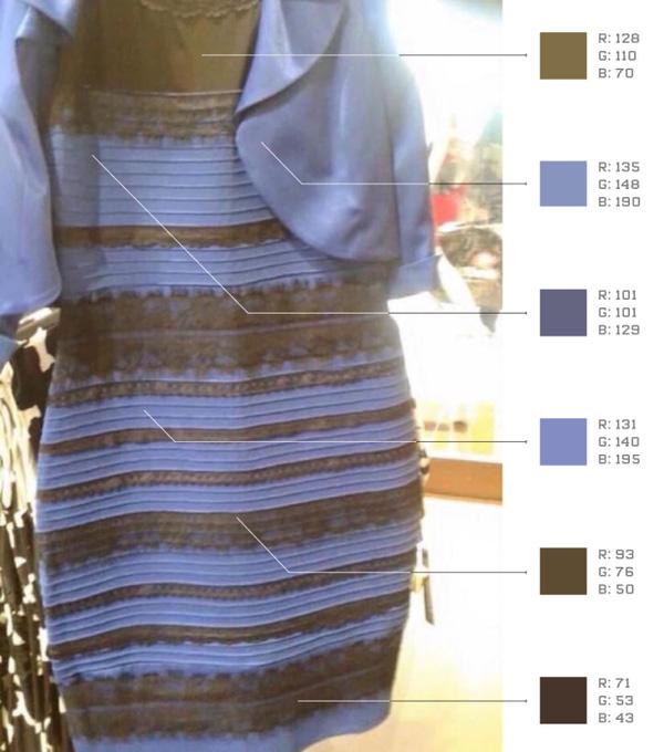 Hé lộ lời giải mới về chiếc váy gây tranh cãi chưa từng có trên toàn thế giới - Ảnh 2.