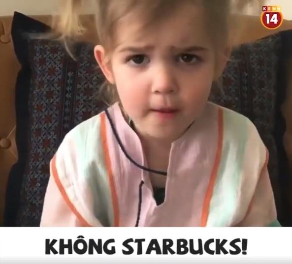 Xem bà cụ non 2 tuổi lý sự khi không được mặc váy công chúa, ngừng uống Starbucks để tiết kiệm tiền - Ảnh 2.