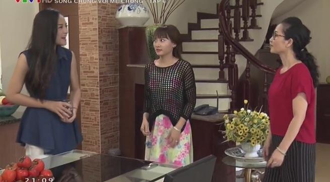 Dù đúng dù sai thì Minh Vân (Sống chung với mẹ chồng) ăn mặc kém xa Bảo Thanh ngoài đời! - Ảnh 8.