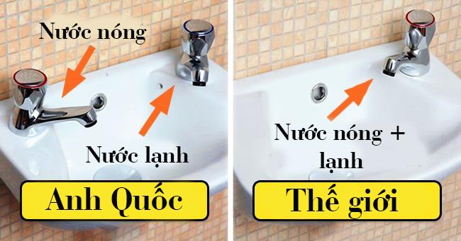Anh Quốc là nơi duy nhất có 02 vòi nước trên cùng một bồn rửa. Lý do là... - Ảnh 1.
