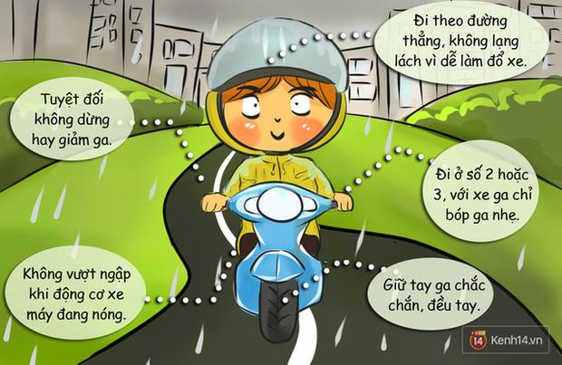 Nguyên tắc đi đường bạn buộc phải nhớ khi có gió giật mạnh ngày mưa bão - ảnh 2