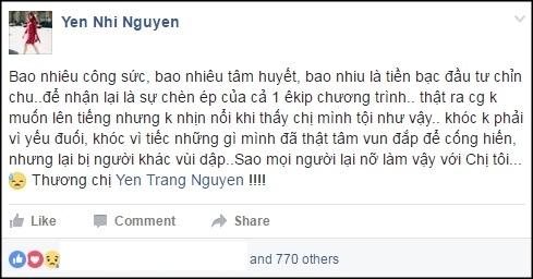 Bị fan làm loạn, The Remix phải tạm tháo clip trình diễn của Yến Trang - Ảnh 4.