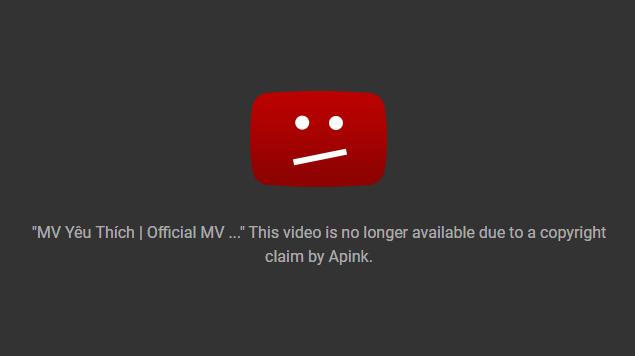 Vừa phát hành, MV mới của Quán quân Sao Mai 2017 đã bị YouTube gỡ vì đạo trắng trợn MV của A Pink - Ảnh 5.