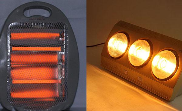 Rét đậm thì nhớ dùng đèn sưởi đúng cách nếu không muốn ngột ngạt hoặc bỏng da - ảnh 1