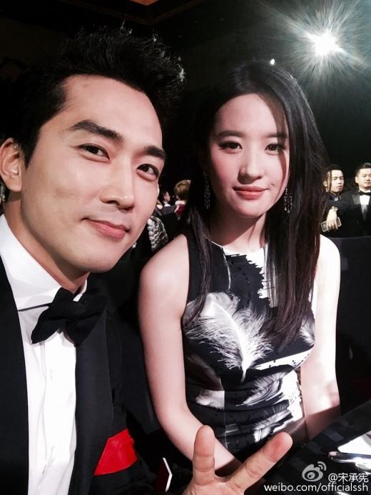 Sau bao lần đồn đoán, cuối cùng Song Seung Hun đã xác nhận chia tay Lưu Diệc Phi - Ảnh 1.