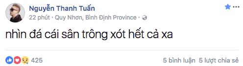 Nghệ sĩ Việt xót xa khi chứng kiến U23 Việt Nam thi đấu trong thời tiết giá lạnh, tuyết phủ kín sân - Ảnh 3.