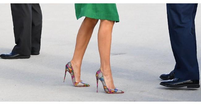 Những lần bà Melania Trump bị chỉ trích đã chứng minh: Mặc đẹp thôi chưa đủ, trang phục còn cần phải hợp hoàn cảnh nữa - ảnh 4