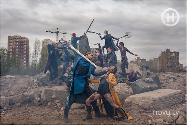 Thêm 1 bộ hình thảm họa của Next Top Ukraine: Đánh đấm, lộn xộn rối cả mắt! - Ảnh 5.