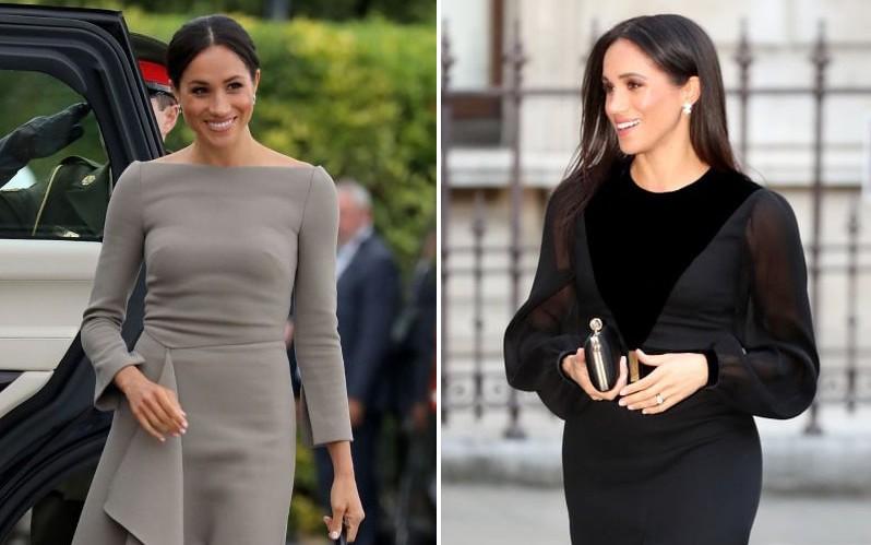 Sau 5 tháng làm dâu Hoàng gia, váy áo tinh tế thanh lịch nhiều không đếm hết nhưng Công nương Meghan lại có tới 3 lần mặc đồ kém duyên