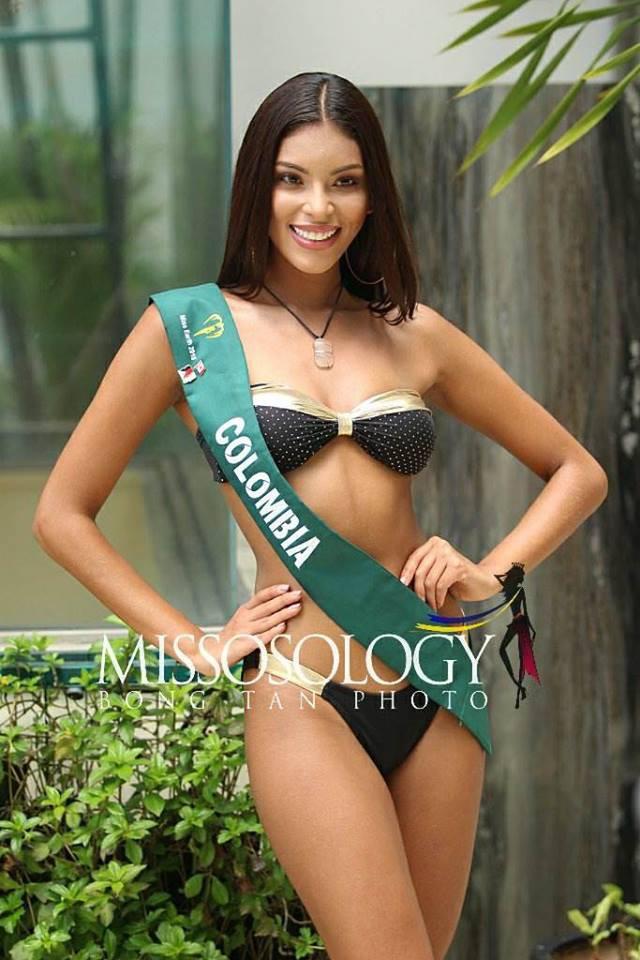 Thí sinh Hoa hậu Trái đất 2018 lộ body thừa cân, ngấn mỡ trong phần thi trình diễn bikini - Ảnh 4.