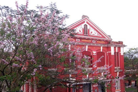 Ở miền Trung có 1 ngôi trường cấp 3 kiến trúc đẹp như châu Âu, đứng vào góc nào cũng ra ảnh nghìn like - ảnh 14