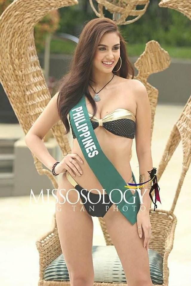 Thí sinh Hoa hậu Trái đất 2018 lộ body thừa cân, ngấn mỡ trong phần thi trình diễn bikini - Ảnh 2.