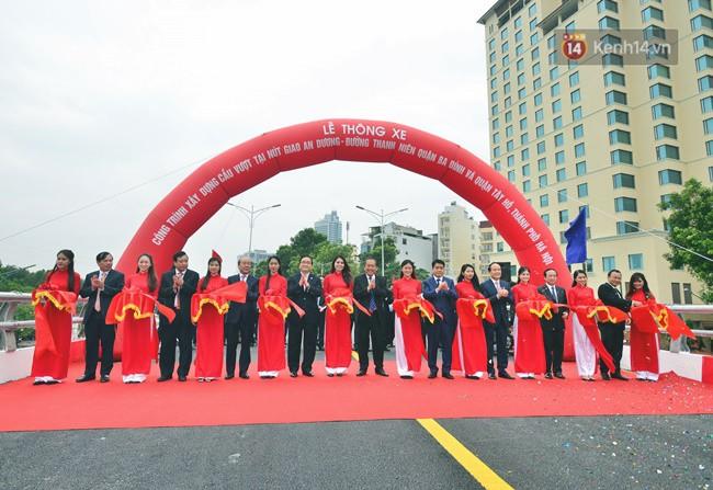Chính thức thông xe cầu vượt An Dương-Thanh Niên - Ảnh 2.