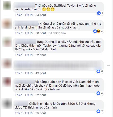 Tùng Dương: Nhạc của Taylor Swift không thể nghe nổi một bài - Ảnh 3.