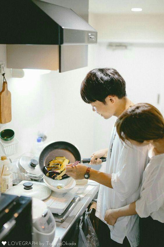 Bộ ảnh chứng minh chúng ta chắc chắn là một cặp trời sinh: Anh thì giỏi nấu, em thì giỏi ăn! - ảnh 4