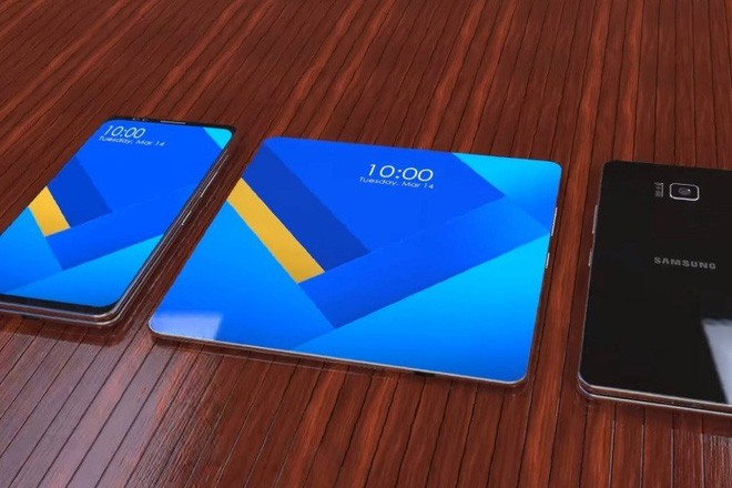Smartphone màn hình gập của Samsung sẽ được hé lộ vào tháng tới, năm sau mới lên kệ - ảnh 2