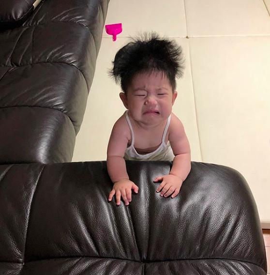Biểu cảm khóc thét của nhóc tì Hàn Quốc đủ sức làm 1001 meme bi hài trong cuộc đời bạn! - ảnh 7