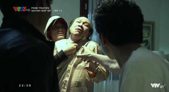 Cảnh lật mặt, dùng dao uy hiếp rồi cướp Quỳnh Búp Bê khỏi tay Phong Cấn - ảnh 12