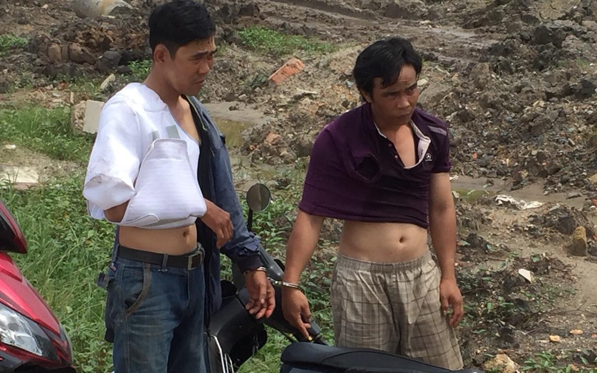 Người đàn ông lao thẳng xe vào 2 kẻ trộm bình ắc quy đang cố tẩu thoát ở Sài Gòn
