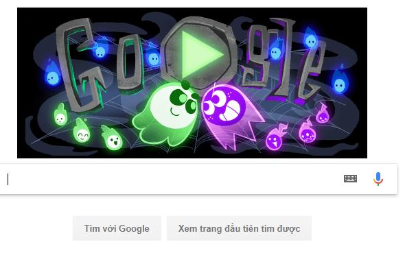Dịp Halloween Google cho ra game mới khiến dân tình phát sốt - Ảnh 1.
