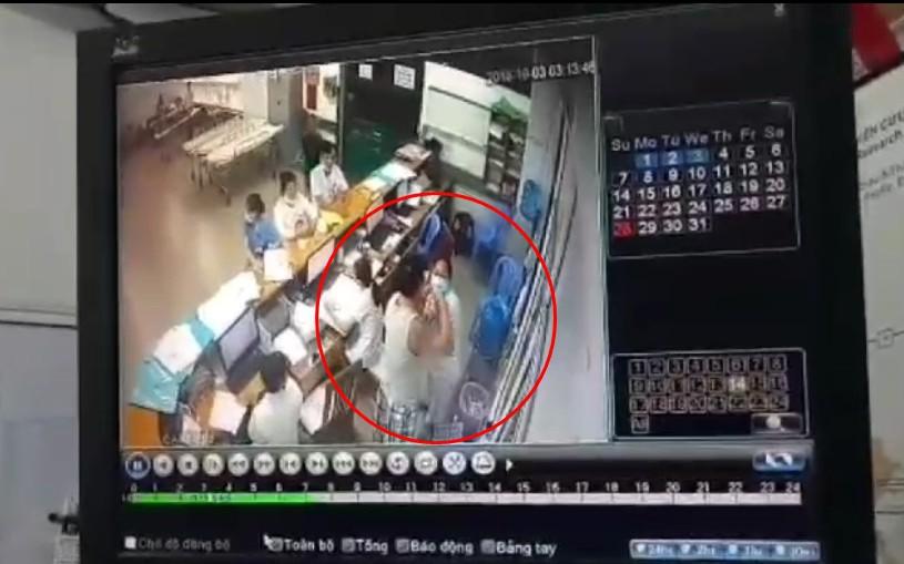Nữ nhân viên y tế Bệnh viện Đà Nẵng bị người đàn ông hành hung, đấm mạnh vào mặt