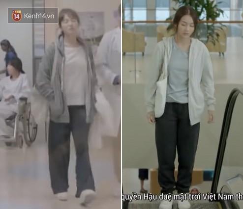 Có tâm như Khả Ngân: Đóng phim remake là cũng diện luôn trang phục giống Song Hye Kyo cho vẹn toàn - ảnh 7