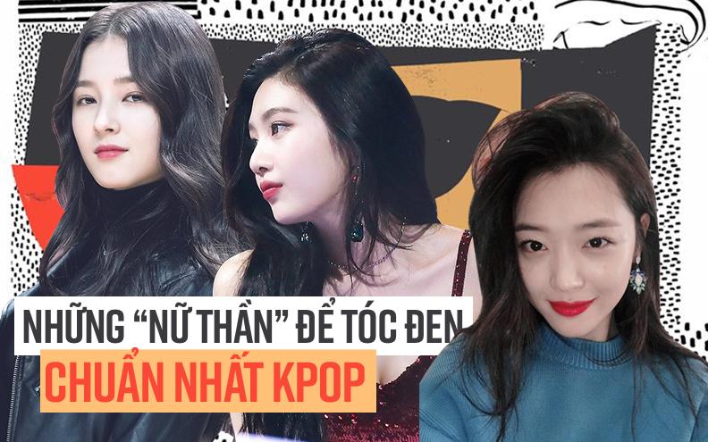 Những idol Kpop để tóc đen xinh lung linh hết phần thiên hạ
