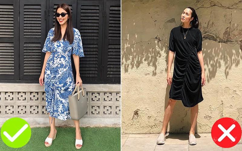 """Sau bao lần """"mặc sai"""", cuối cùng Tăng Thanh Hà đã biết cách diện đẹp mẫu váy khó nhằn này"""