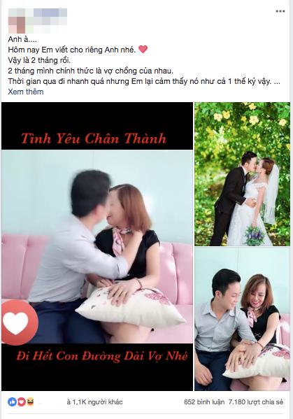 Kỷ niệm hai tháng đám cưới, cô dâu 62 tuổi chia sẻ tâm sự dài dành cho chồng trẻ: Yêu anh, xin lỗi vì em đã là mối tình đầu của anh... - ảnh 2