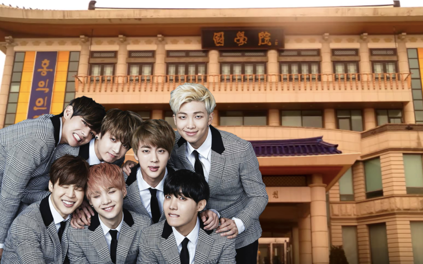 Khám phá ngôi trường có 6 thành viên BTS theo học: Trường toàn sao nhưng học phí thuộc hạng rẻ nhất Hàn Quốc