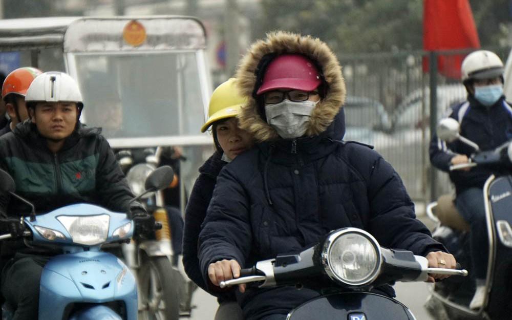 Ngày mai miền Bắc đón không khí lạnh mạnh, nhiệt độ thấp nhất tại Hà Nội là 17 độ C