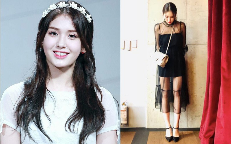 Jeon Somi mặc váy xuyên thấu chút đỉnh, netizen Hàn đã đồng loạt chỉ trích: mới 17 tuổi hãy chừng mực!