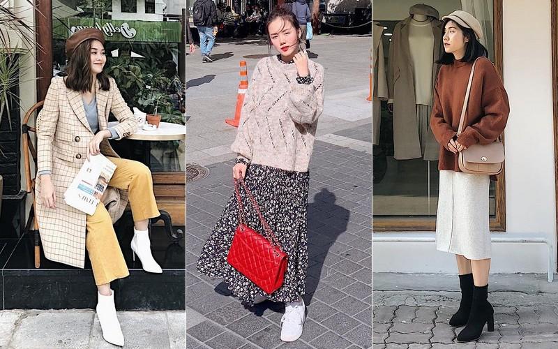 Muốn mặc đâu chuẩn đấy trong tiết trời se lạnh, bạn chỉ việc copy 10 công thức street style xuất sắc từ loạt hot girl Việt
