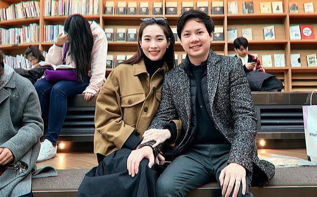 Ngọt ngào như vợ chồng nhà HH Thu Thảo: Từ lúc hẹn hò tới giờ vẫn rất tích cực diện đồ xuyệt tông với nhau