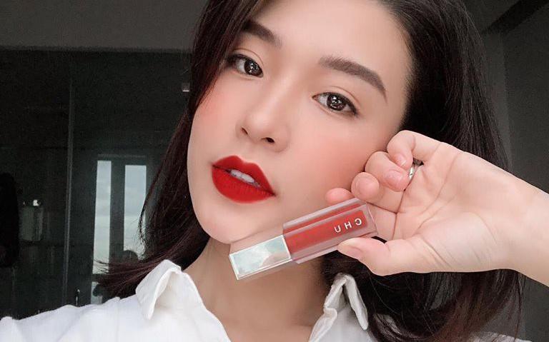 Bí mật 5 phút rạng ngời với son nhung 3 trong 1 CHU Lipstick