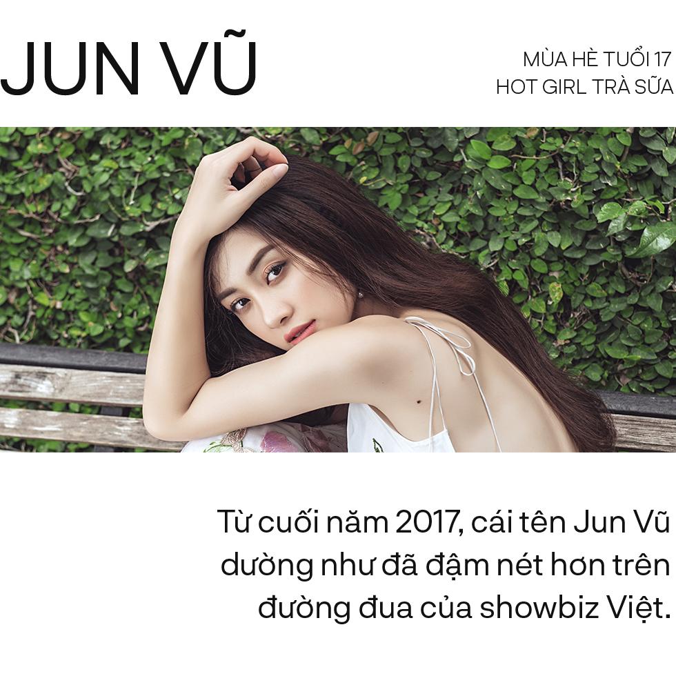 """Jun Vũ và con đường từ """"hot girl trà sữa"""" đến diễn viên thực thụ của màn ảnh Việt - Ảnh 1."""