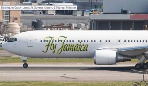 Máy bay của Hãng Fly Jamaica hạ cánh khẩn cấp, 6 người bị thương - ảnh 1