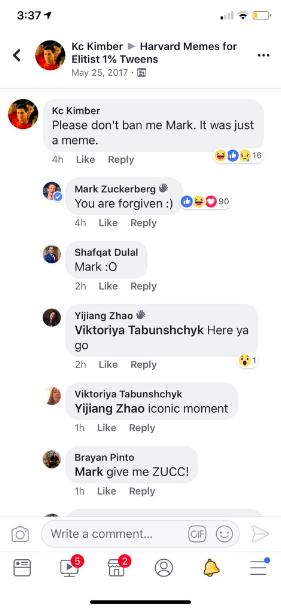 Ngạc nhiên chưa, Mark Zuckerberg vừa vào một nhóm chơi meme trên Facebook, lại còn comment dạo rất hăng nữa chứ - Ảnh 4.