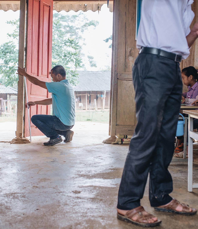 KTS Phạm Đình Quý - 5 năm đi xây 105 điểm trường vùng cao: Cứ thấy các cháu khổ mình lại tiếp tục cố gắng, mục tiêu của mình là bao giờ mình yếu thì thôi - Ảnh 7.