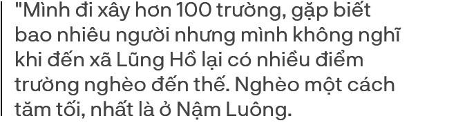 KTS Phạm Đình Quý - 5 năm đi xây 105 điểm trường vùng cao: Cứ thấy các cháu khổ mình lại tiếp tục cố gắng, mục tiêu của mình là bao giờ mình yếu thì thôi - Ảnh 9.