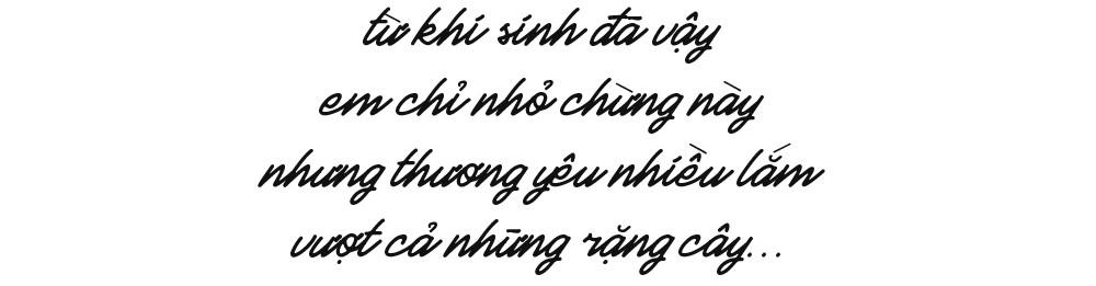 Thầy khổng lồ và bé tí hon giữa núi rừng Quảng Ngãi: Chuyện cổ tích của tình yêu thương - Ảnh 3.