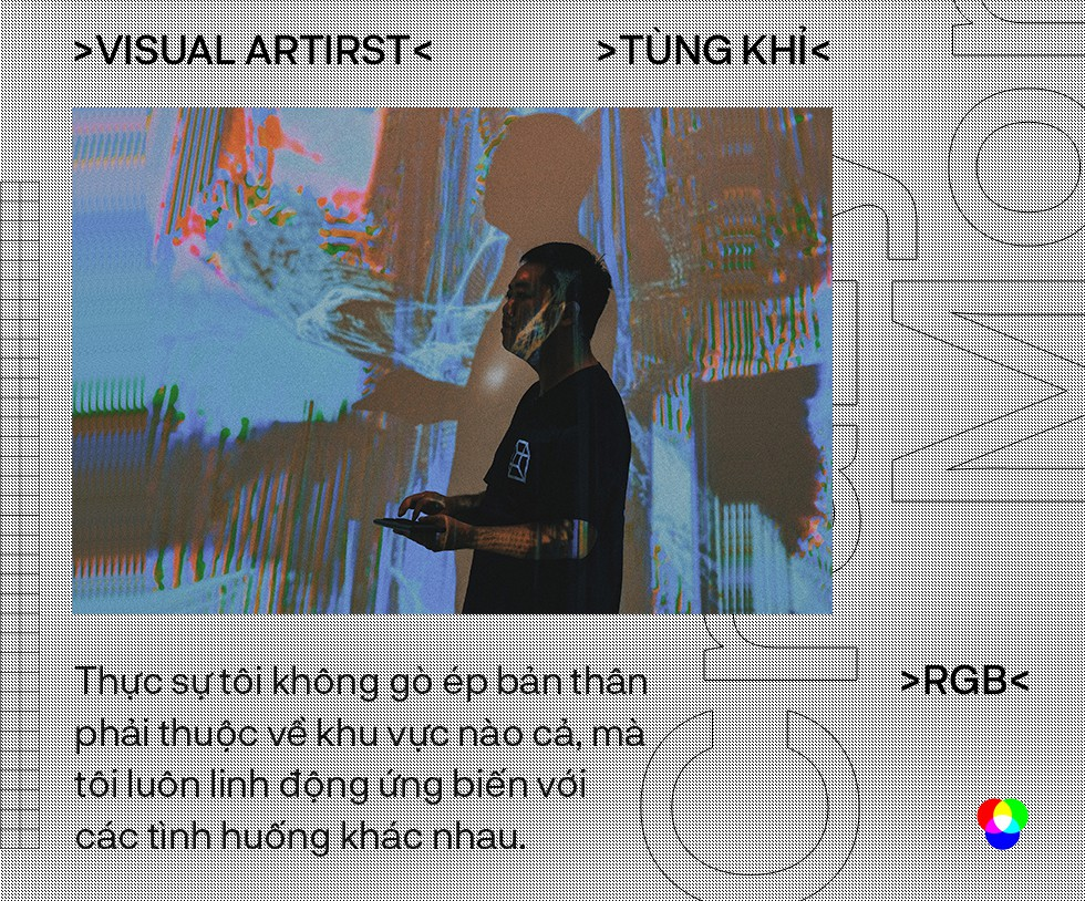 """Nghệ sĩ thị giác Tùng Khỉ: May mắn là khi trong tay bạn có nhiều công cụ và khả năng để bạn lựa chọn, nhưng điều đó không có nghĩa là bạn có thể làm chủ cuộc chơi"""" - Ảnh 10."""