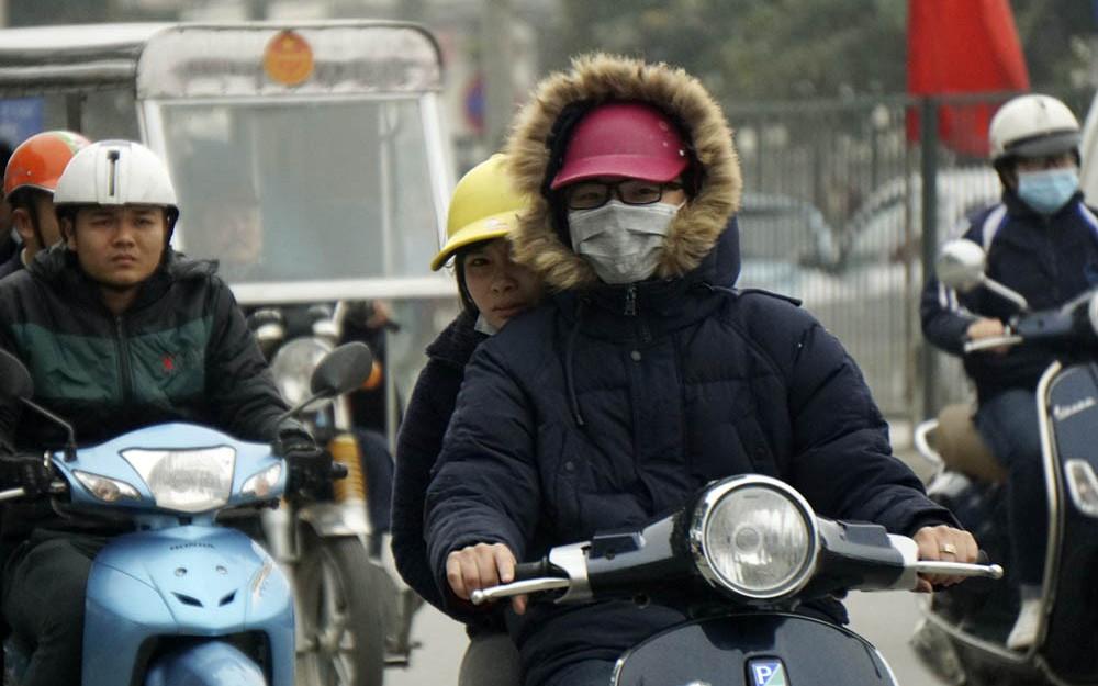 Cuối tuần miền Bắc đón gió mùa đông bắc, Hà Nội mưa rét, thấp nhất 15 độ C