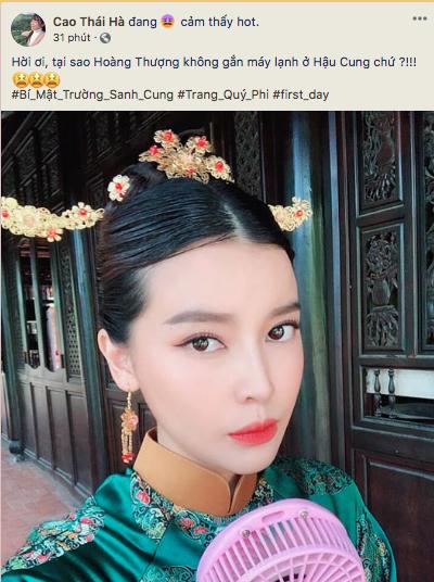 Sau Hậu Duệ Mặt Trời bản Việt, Cao Thái Hà tiến cung và giống y hệt... Cao Quí Phi? - ảnh 1