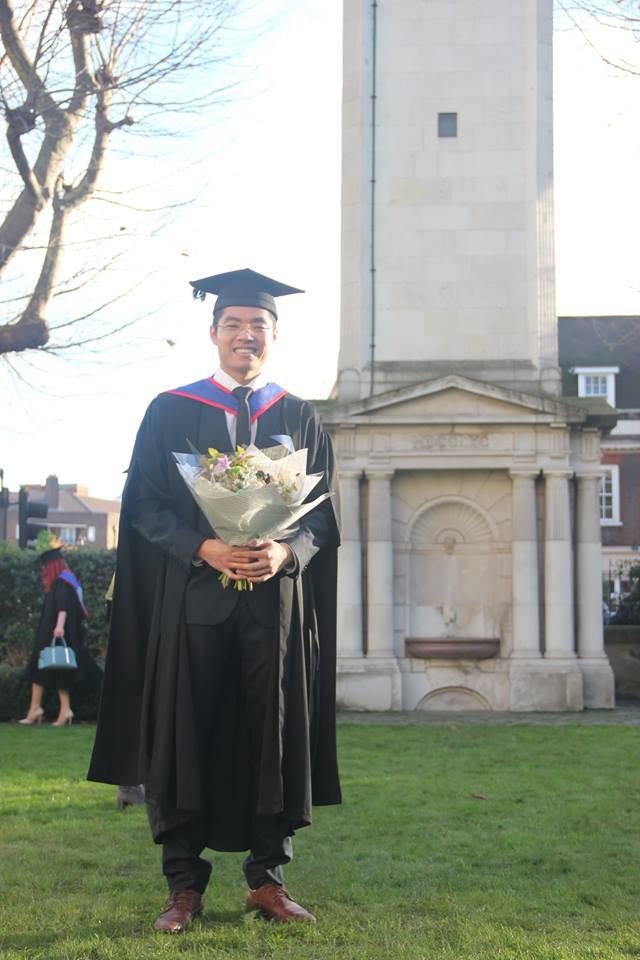 Nam sinh Việt duy nhất nhận học bổng tiến sĩ toàn phần ĐH hàng đầu nước Anh - ảnh 2