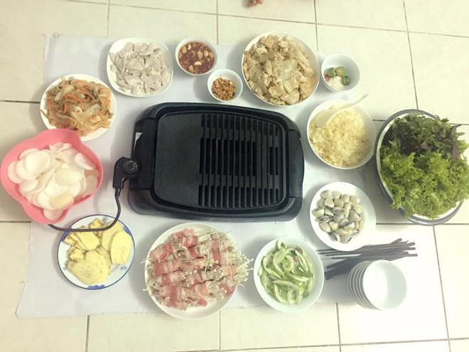 Cao thủ chi tiêu Hà Nội: Chỉ tốn 4,5 triệu/tháng tiền chợ cho 4 người lớn mà bữa nào cũng như đại tiệc - ảnh 18