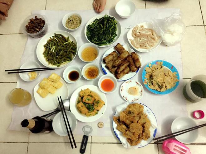 Cao thủ chi tiêu Hà Nội: Chỉ tốn 4,5 triệu/tháng tiền chợ cho 4 người lớn mà bữa nào cũng như đại tiệc - ảnh 19
