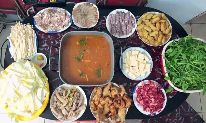 Cao thủ chi tiêu Hà Nội: Chỉ tốn 4,5 triệu/tháng tiền chợ cho 4 người lớn mà bữa nào cũng như đại tiệc - ảnh 3