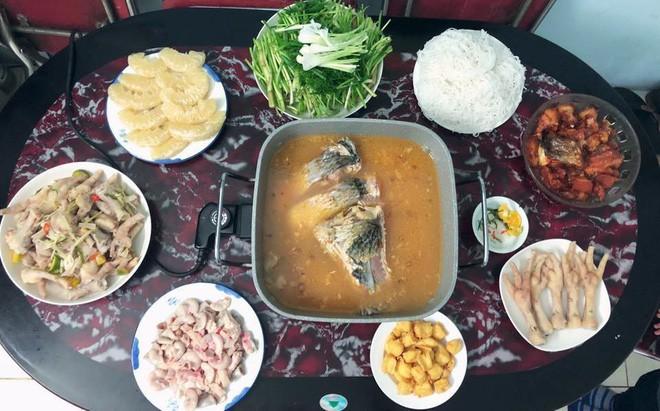 Cao thủ chi tiêu Hà Nội: Chỉ tốn 4,5 triệu/tháng tiền chợ cho 4 người lớn mà bữa nào cũng như đại tiệc - ảnh 6