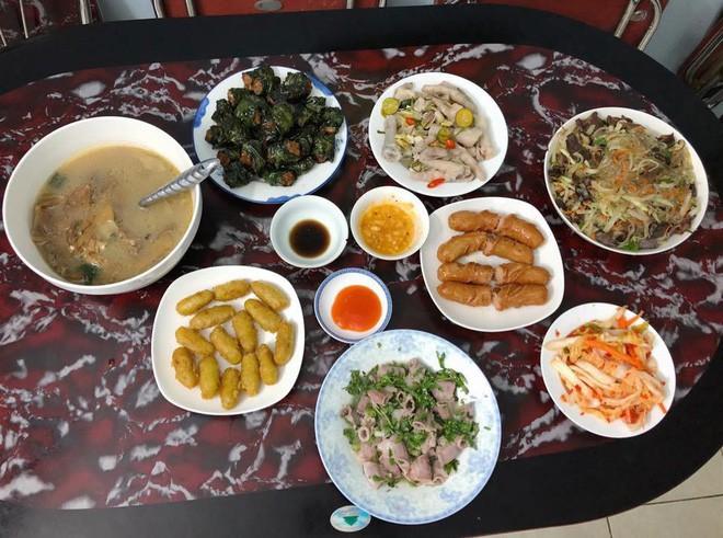 Cao thủ chi tiêu Hà Nội: Chỉ tốn 4,5 triệu/tháng tiền chợ cho 4 người lớn mà bữa nào cũng như đại tiệc - ảnh 9